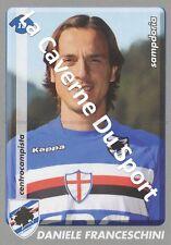 N°401 DANIELE FRANCESCHINI # ITALIA SAMPDORIA STICKER PANINI CALCIATORI 2009