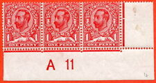 SG. N8 (UNLISTED) f. 1d deep carmine red. An UNMOUNTED MINT control.