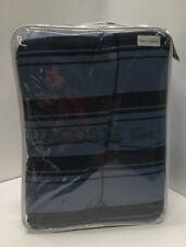 Lacoste Gradient Stripe Reversible Twin Comforter Set in Blue