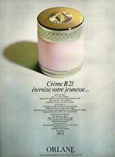 K- Publicité Advertising 1970 Cosmétique crème B21 Orlane
