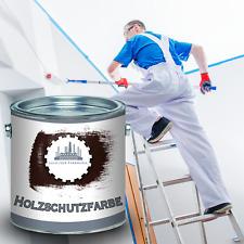 Lausitzer Farbwerke Holzschutzfarbe UV-Beständig Holz-Schutz-lack gegen Pilze