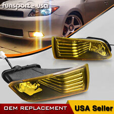 For 05-10 Scion TC Yellow Bumper Fog Lights Driving Lamps w/Switch+Bulbs+Harness