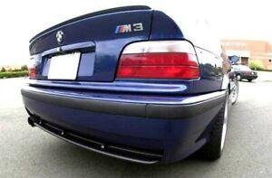 Für BMW E36 Coupe Heck Spoiler Spoilerlippe Kofferraum Lippe Heckspoilerlippe