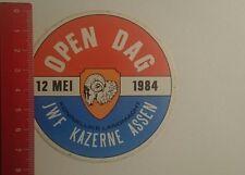 Aufkleber/Sticker: Koninklijke Landmacht JWF KAZERNE ASSEN 1984 (29121654)