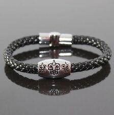 Herren Lederarmband Armband Armreif Shamballa Armbänder Armschmuck Bracelet