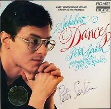 Schubert Dances Peter Serkin Pro Arte PAD 171 LP PROMO AUTOGRAPHED