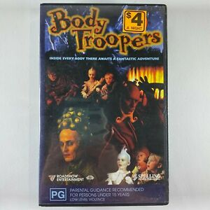 Body Troopers VHS RARE