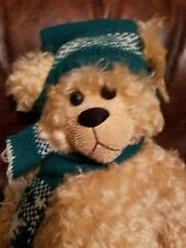 """Little Nicholas Bear 18"""" Fully Jointed by Artist Sherry Kozil #1 of 25"""