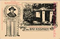 AK Bad Kissingen, Fürst Bismarck Waage, 1916, 15/04
