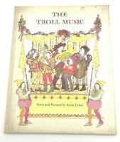 1966 THE TROLL MUSIC Anita Lobel Harper & Row 1st Ed. Illustrated Weekly Reader