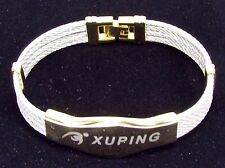 Xuping Multi Colored Logo ID Bracelet