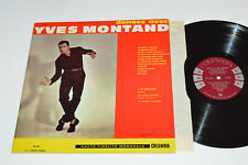 YVES MONTAND Dansez Avec LP 1960 Columbia Records Canada Mono FL-248 VG/VG+