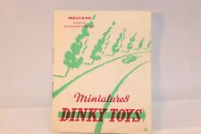 Dinky Toys French original Catalogue excellent plus original condition *23*