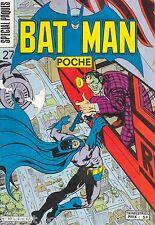 Batman Poche N°27 Spécial Pâques (Grand Format) - Sagédition - Mai 1980 - BE