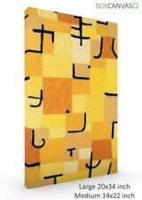Paul Klee Artist Yellow Art Prints