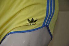 adidas nylon Sprinter Sporthose / Badehose Shorts 80er TRUE VINTAGE silky shiny