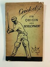Cricket: Its Origin and Development (1935) - ABC Booklet (48 Pages)