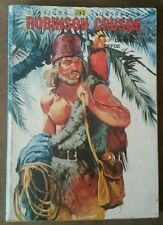Robinson Crusoe por Daniel Defoe 1980 Editorial Novaro Comic Mexico