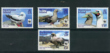 Ascension Island 2016 MNH Red-Footed Booby WWF 4v Set Birds Boobies
