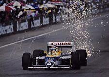 Nelson Piquet SIGNED 12x8 Williams-Honda FW11B  Austrian GP Osterreichring 1987