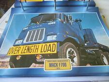 Super trucks front guidon usa Mack f700, 1973