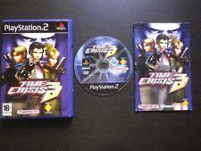 TIME CRISIS 3 : JEU Sony PLAYSTATION 2 PS2 (Namco COMPLET envoi suivi PAL)