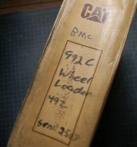 CAT Caterpillar 992C Wheel Loader Repair Shop Service Manual operation book OEM