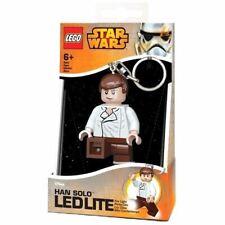 LEGO Han Solo Figure LED Key Light Keyring Keychain - Boxed Star Wars
