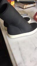 Rick Owens Drkshdw Neoprene Scuba Socks EU 40