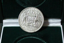 Australia 1961 Florin, opens at silver value