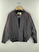 Walls Mountain Vintage Men's Lined Full Zip Jacket - Size L - Grey - Made in USA