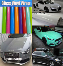 Car Styling - High Gloss Vinyl Wrap Vehicle Glossy Film Foil Air Bubble Free