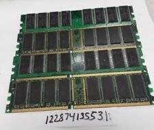 4GB DDR DDR1 333MHZ  DUAL RANK  PC2700 333 184PIN  NON-ECC  RAM 64X8  2RX8
