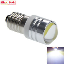 Pair E10 Screw Led Bulbs Replacement Flashlight Torches Light Lamp White 3V DC