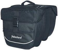 Doppeltasche Haberland 130002 schwarz 25 Liter Fahrrad Packtasche