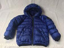 Stone Island Junior Daunen Jacke Down Jacket Kids Gr. 3 / 98 Blau. Warm + Leicht