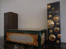 coffrets à champagne Taittinger Ruinart vintage XXème CURIOSITY by PN