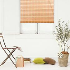 "Natural Bamboo Roll Up Window Blind Roman Shade Sun Shade WB-9A1 (W42"" X H72"")"