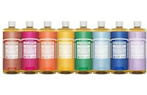 NEW Dr. Bronner's Hemp Pure-Castile Soap Liquid 946ml 18-in-1 All Scent Bronners