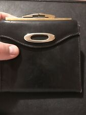 Cashmere Leather Wallet Coin Purse Lady Bosca