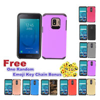 For Samsung J2 Core Dual Layer TPU Hybrid Design Hard Protective Phone Case