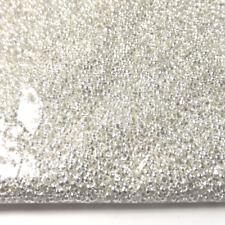 200 Perles à écraser Rondes Baril Crimp Beads 2mm en Métal Argenté Clair