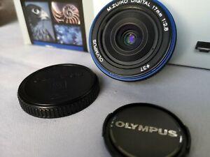 M. Zuiko Olympus 17mm F2.8 Pancake Lens