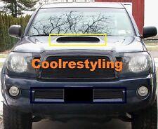For 05 06 07 08 09 10 11 Toyota Tacoma TRD Sport Black hood Billet Grille insert