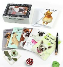 Cavepop All Occasion Dog Greeting Cards with Envelopes - 36 Assortment