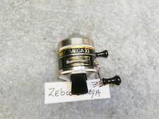 "Zebco Spincast ""Omega"" 33 Fishing Reel Very Good Working Bass Bluegill"