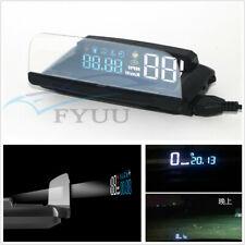 Car SUV Mirror HUD Head Up Display Speed Projector Speedometer KMH KPM RPM OBD2