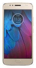 "New Sealed Gold Motorola Moto G5S Dual SIM 5.2""FHD 32GB 3GBRAM 16MP FPS XT1794"