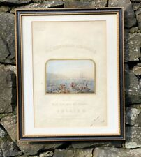 More details for the hibernian quadrille antique advert dated 1850 signed by composer jullien