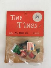 Nos Vintage Tiny Boy and Girl Americana Tiny T'Ings Mini Dolls!